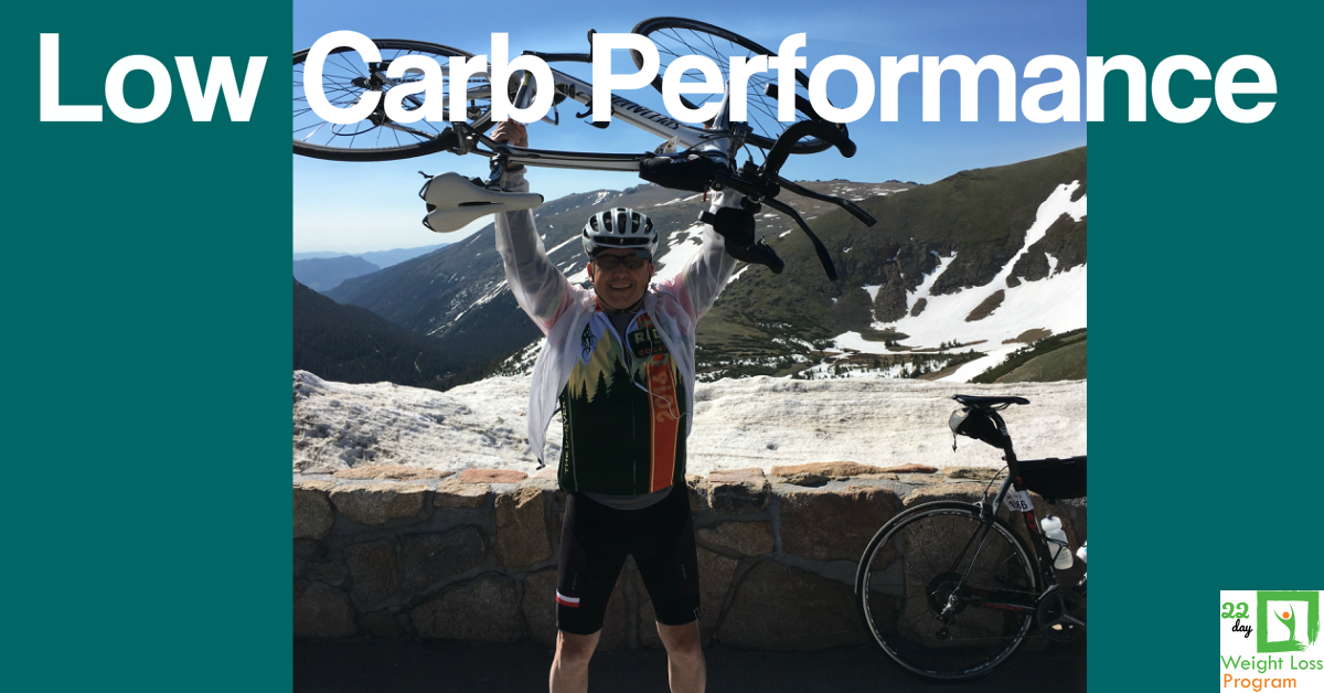 low carb ride the rockies